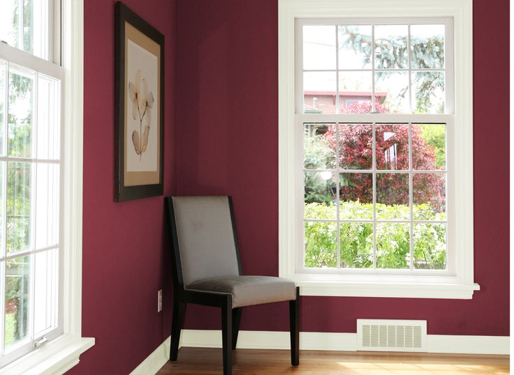 Best Accent Wall For Master Bedroom In Classic Burgundy Paint 400 x 300