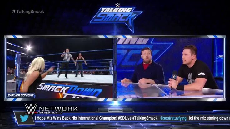 Let's just say The Miz was NOT HAPPY with the way he lost the Intercontinental Championship, as he expressed loudly to GM Daniel Bryan on Talking Smack on WWE Network.