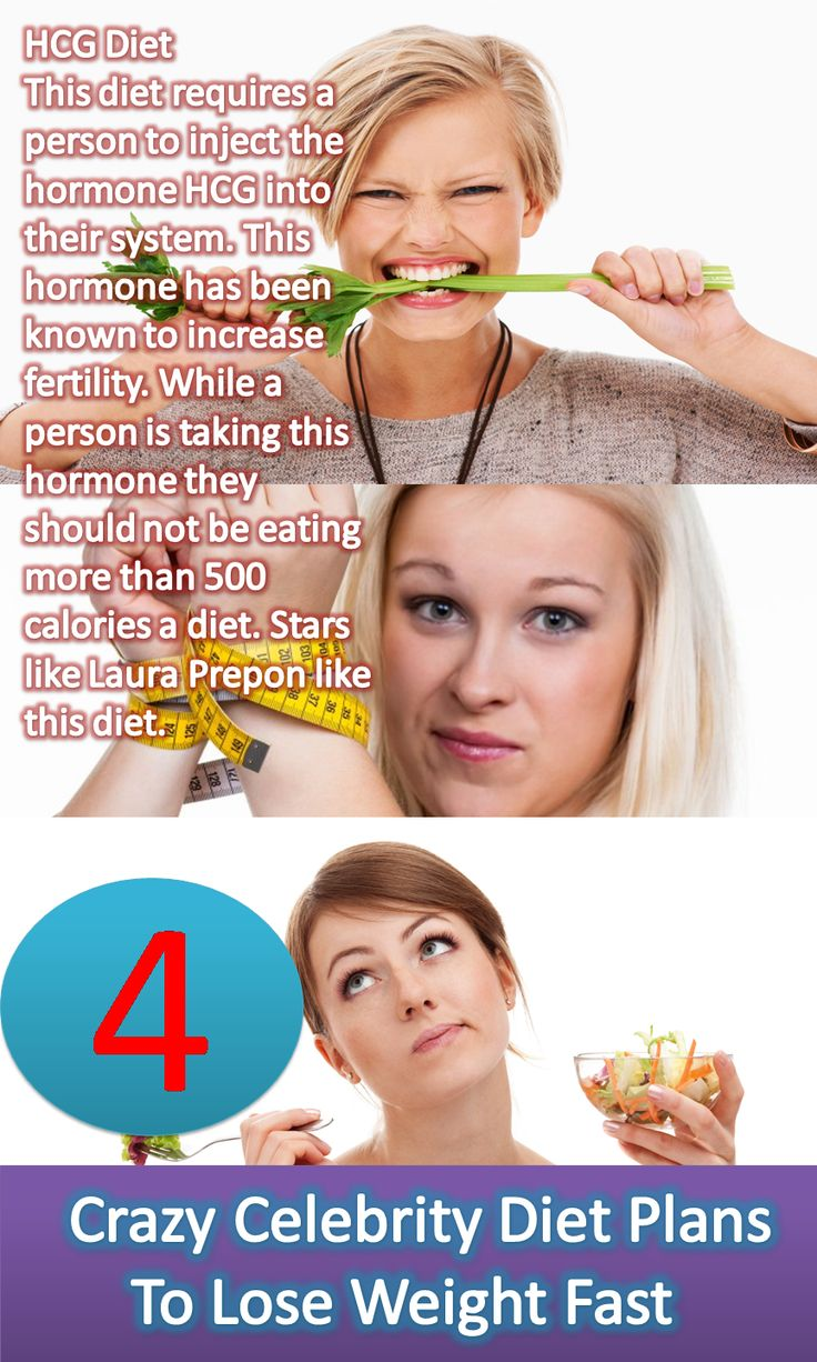 Celebrity Diets - Weekend Diet Secret - Fast Weight Loss ...