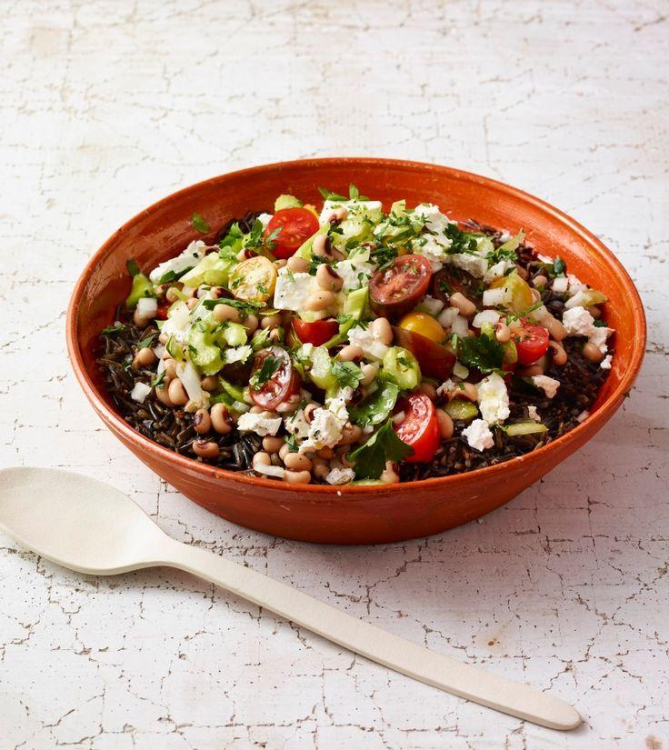 Wild Rice & Black-Eyed Pea Salad - Rachael Ray Every Day