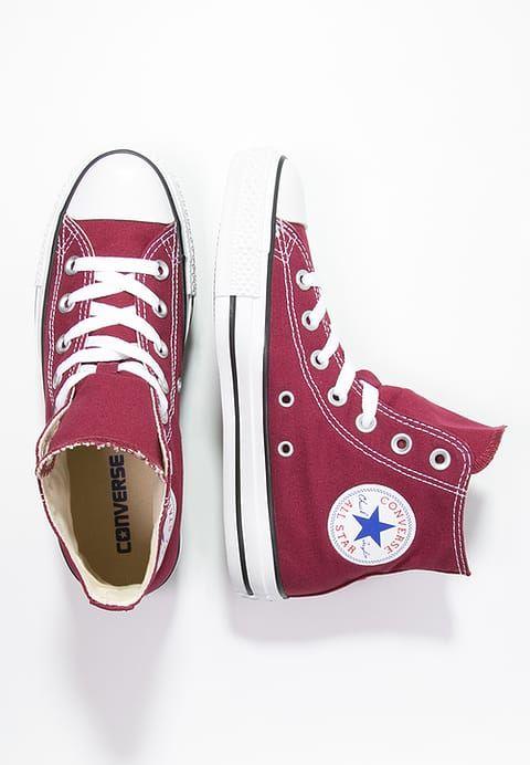 Converse CHUCK TAYLOR ALL STAR - Sneakers alte - maroon - Zalando.it