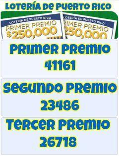 #LoteríadePuertoRico sorteo 347 de Lotería Tradicional del Jueves 24-8-2017