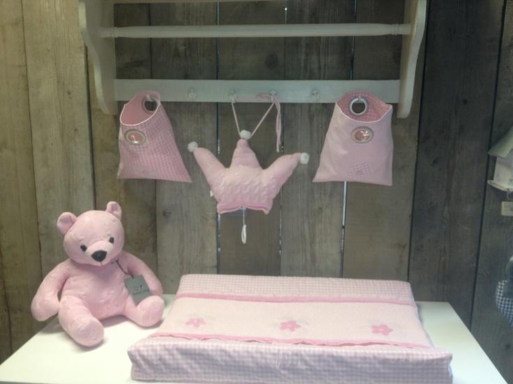 Baobao wand deco zakjes roze
