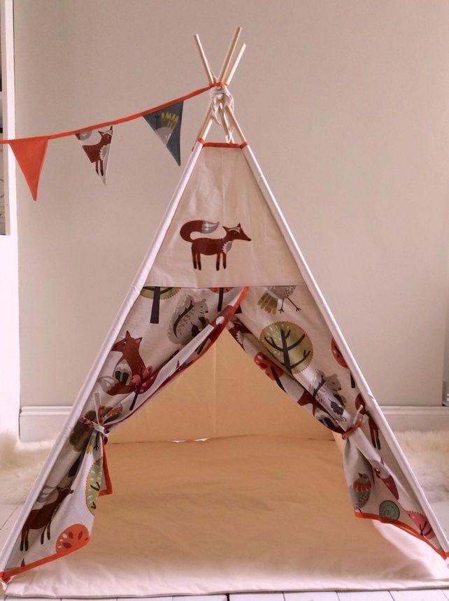 Woodland Animals Teepee Playtent  £79.00