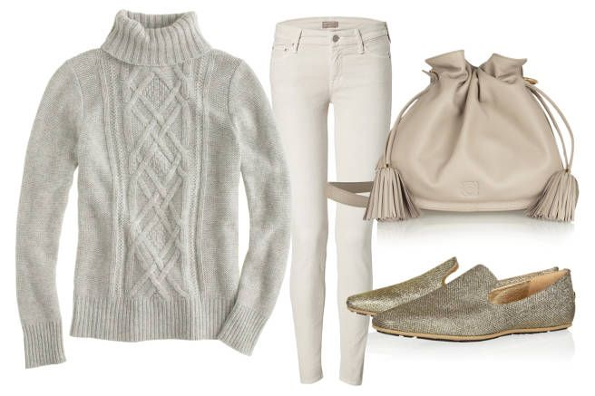 How to wear a turtleneck: For a lazy Saturday