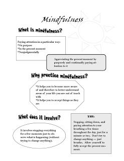 Image detail for -created a bunch of mindfulness handouts to use with my patients if ...