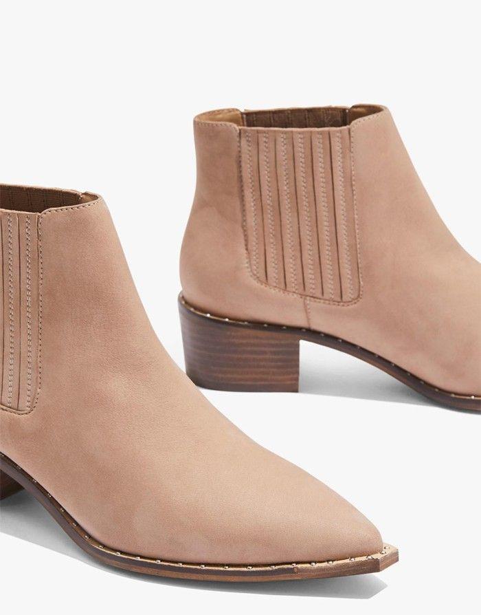 Boots, Nubuck leather, Autumn winter