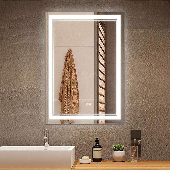 Amazon Beautimira 洗面ミラー Led ミラー 洗面台 浴室鏡 壁掛け 曇り止め 調光調色可能 70 50cm ミラー 鏡 オンライン通販 2020 浴室 鏡 ライト付きミラー 鏡 壁掛け
