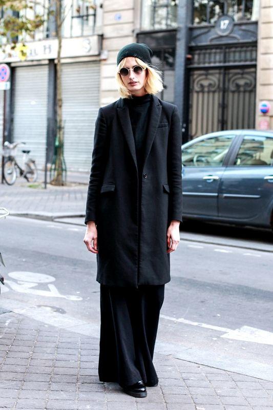 冬の定番、ブラックアウターをパリジェンヌ風に着こなす! | FASHION | ファッション | VOGUE GIRL