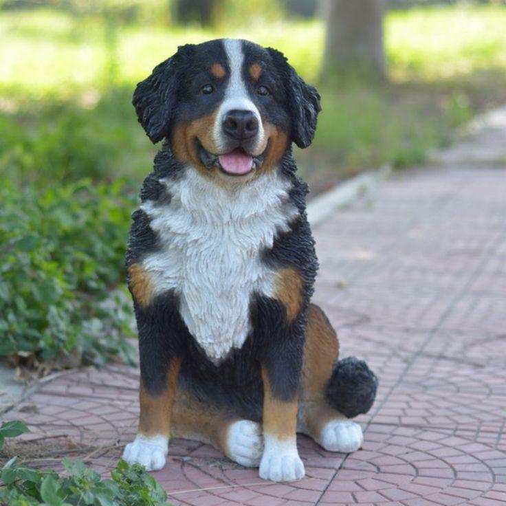 Hi Line Gift Ltd. Bernese Mountain Dog Garden Statue   87750
