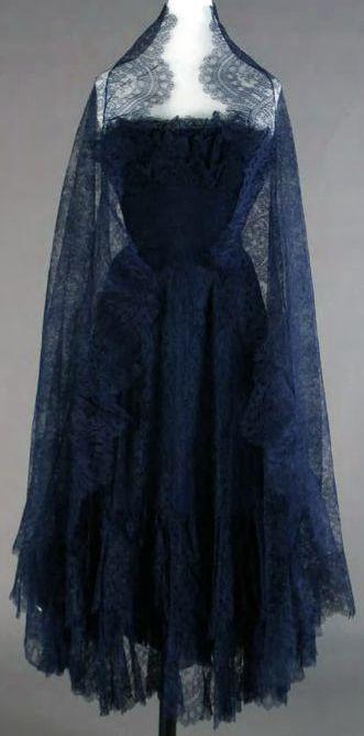 Balenciaga - Robe de Soirée - Dentelle - 1951-52