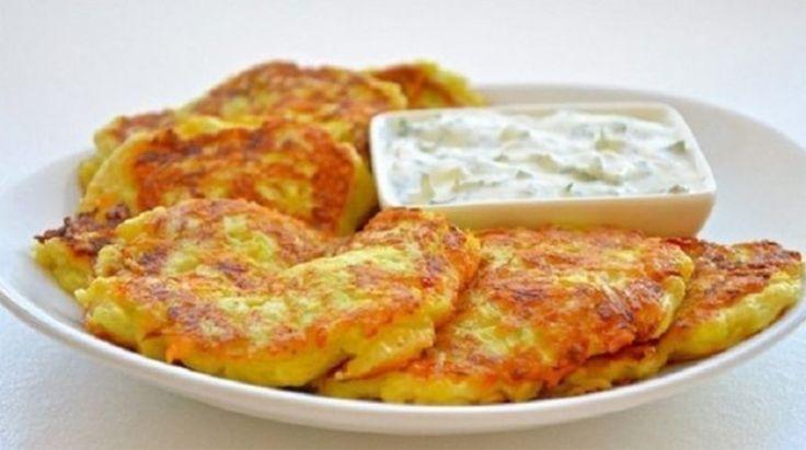 Volt otthon 2 cukkini, egy kis sajt és fokhagyma, ínycsiklandó ételt készített belőle!