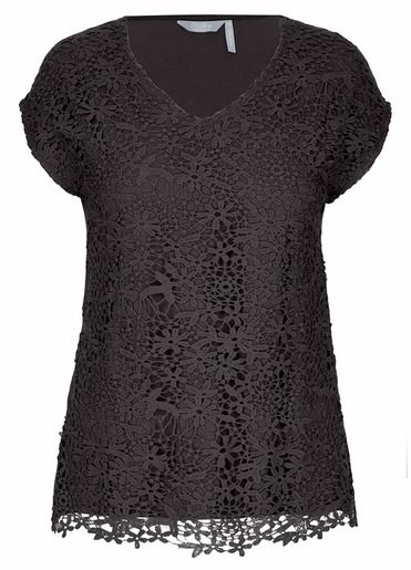 Extended Sleeve Lace Top