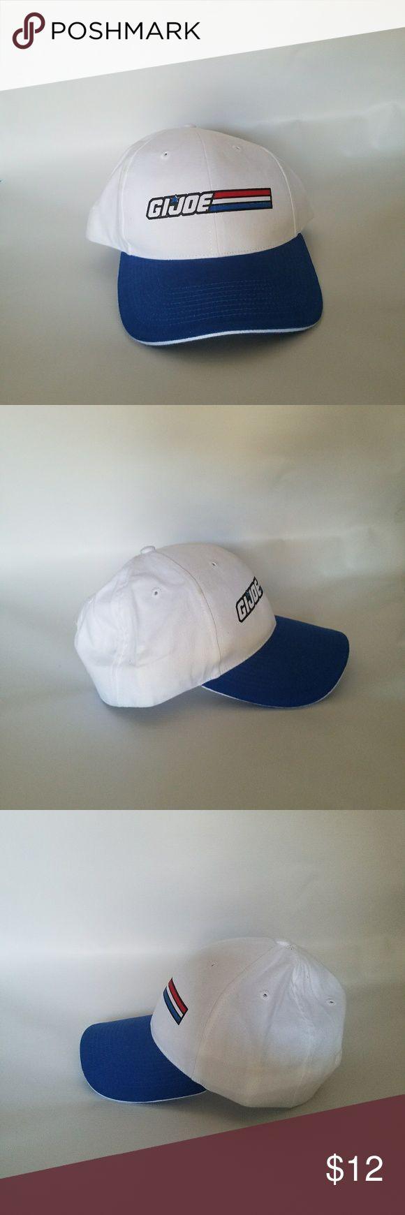 White baseball caps for crafts - Men S Gi Joe Baseball Hat Adjustable Baseball Cap Velcro Closure Former Display Slightly