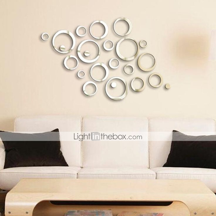 Mirrored Wall Decals 29 best mirror wall images on pinterest | circle mirrors, mirror