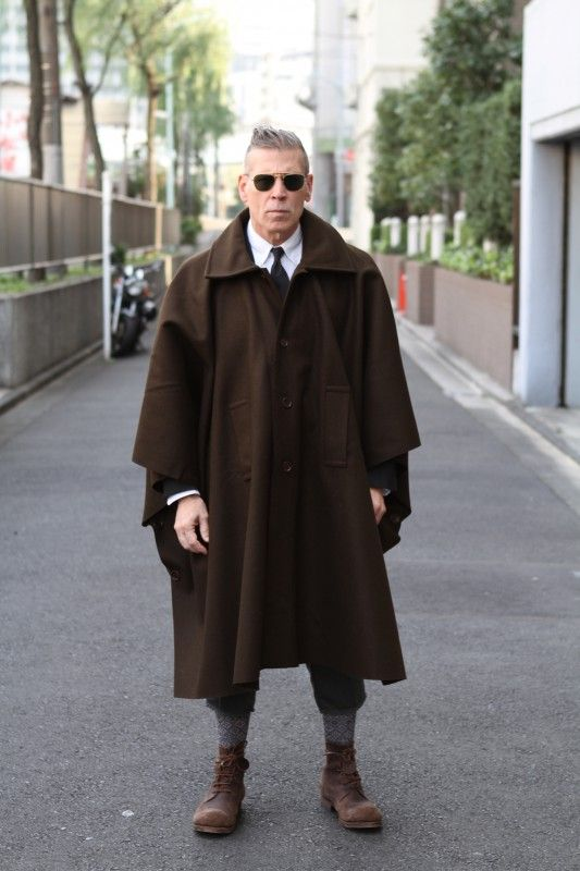 NIck Wooster in Japan - cape street style