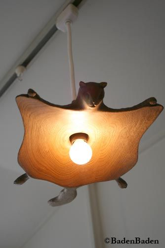 ムササビのランプ flying squirrel lamp? the things we could easily convince ourselves we need...