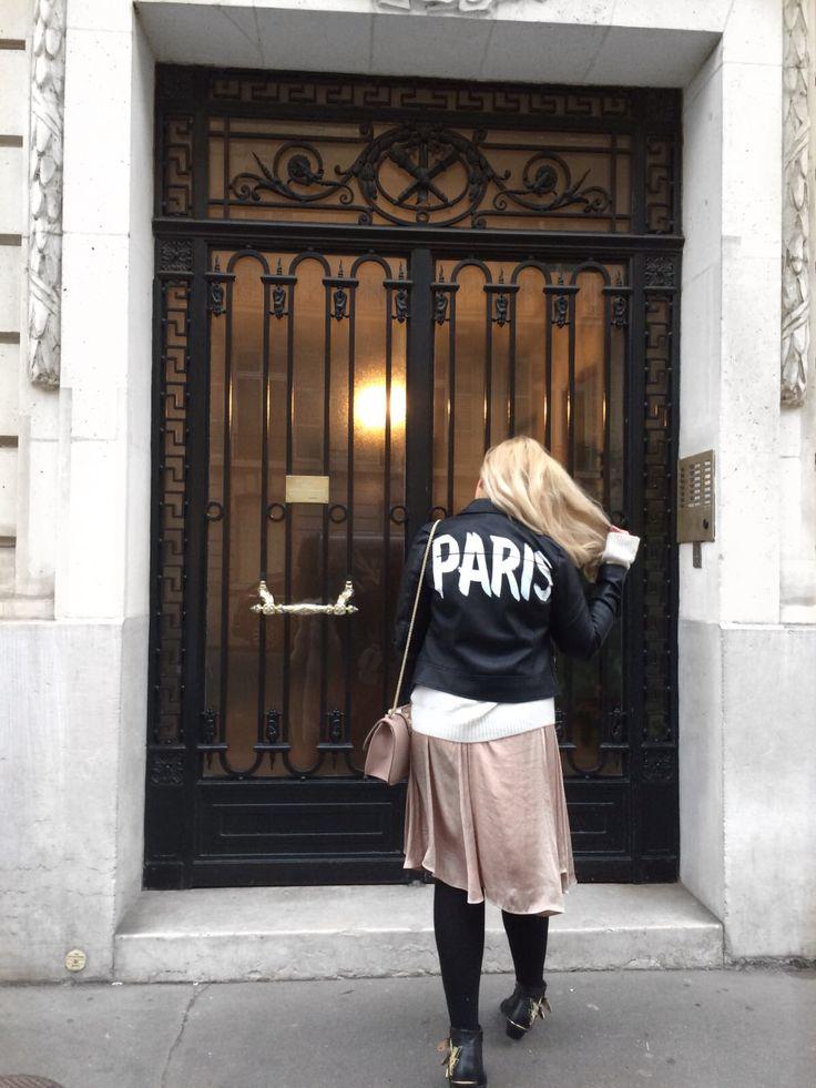 Paris jacket street style