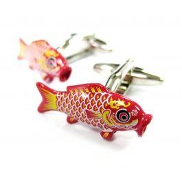 Japanese Kite Fish Cufflinks