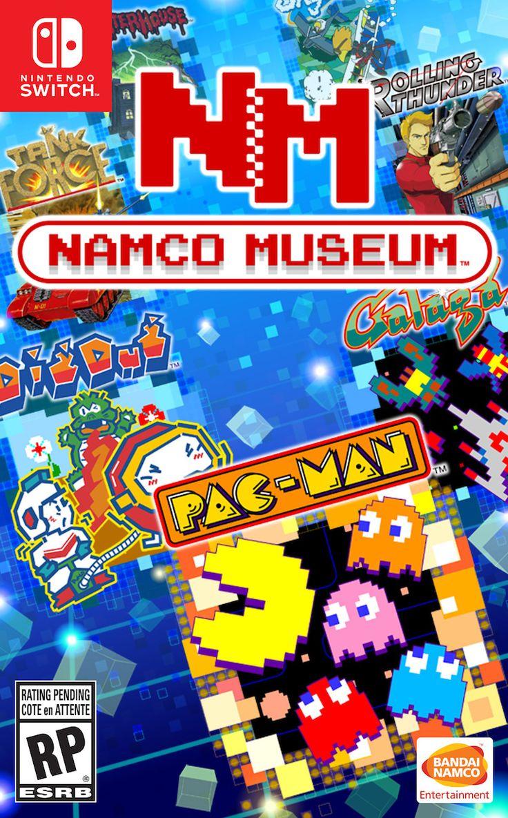 namco-museum Pac-Man VS estará en galería de juegos retro de Nintendo Switch
