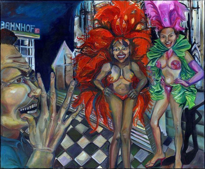 Catawiki Online-Auktionshaus: Ingreed Martinez – Bewunderung – N&I Aspekt