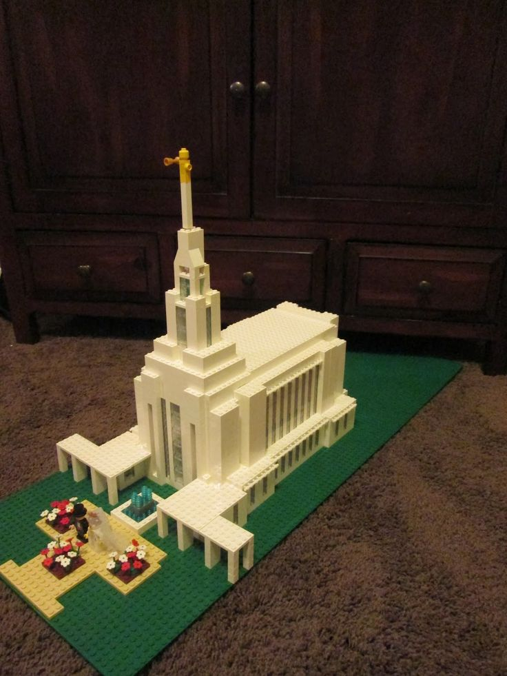 Build In Holy Places: Oquirrh Mountain Utah…and many other lego temples
