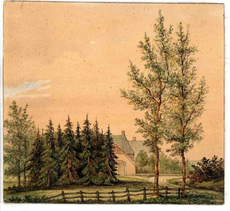 39 best arie lieman 1816 1893 schilder op de veluwe in for Boerderij te koop apeldoorn