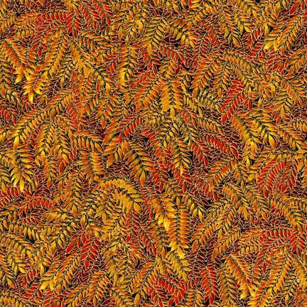 Robert Kaufman Fabrics: ESKM-6637-191 AUTUMN from Nature's Brilliance 4