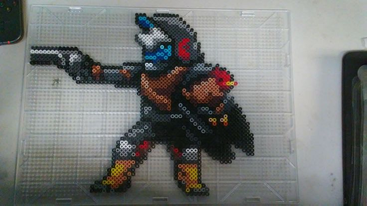 Cayde 6 from Destiny | bead art | Pinterest | Perler Beads ...