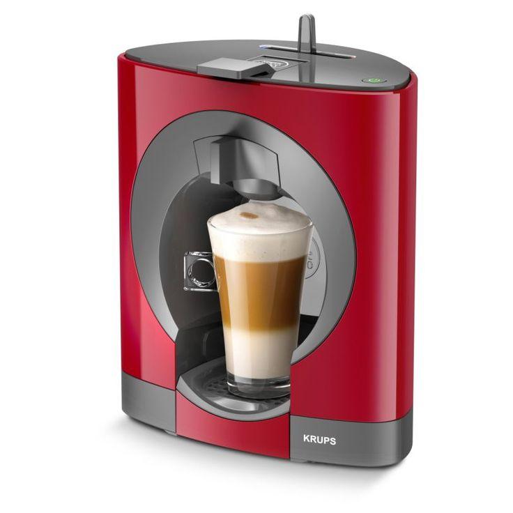 Electrocasnice & Climatizare   Espressoare, cafetiere & cafea   Preparat cafea   Espressor   Espressor Krups Espressor Krups NESCAFE Dolce Gusto Oblo KP1105, 0.8 l, 15 bar, Capsule, Rosu. Cu expresorul Krups NESCAFE Dolce Gusto Oblo KP1105 vei avea la dispozitie 25 de tipuri de caspule de cafea. Vezi review, pret, pareri si impresii.