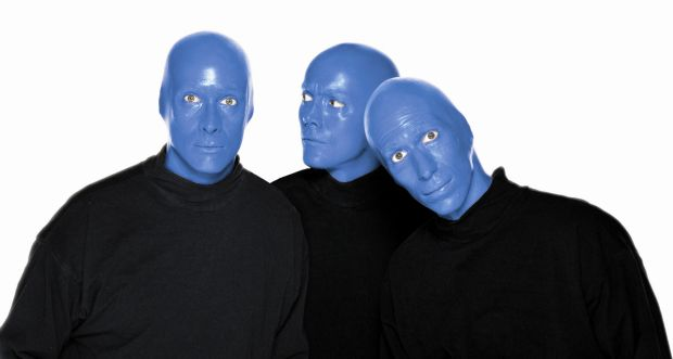 Things to do in D-FW for Tuesday: See the dancing chimp, blue dudes, Shakespeare and more: Blue Man, Beautiful Blue, Colors Travel, Bluemangroup Ontheblog, Blue Guys, Blue Colors, Blue Boards, Man Group, Blue Men