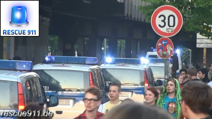 1. Mai Demo Berlin - Polizei