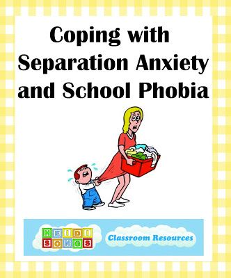 Does your child suffer from separation anxiety or school phobia?  Are you nervous about dropping off your child at school or daycare due to this problem?  In my 25+ years as a teacher of young children, I have seen a fair number of children suffer from separation anxiety, and unfortunately their parents suffer right along with them! Here are some GREAT tips & ideas to help!!