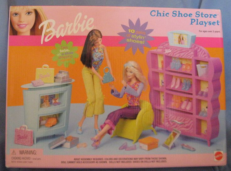 Barbie Shoe Store Set Jpg 1300 215 966 Toys I Had