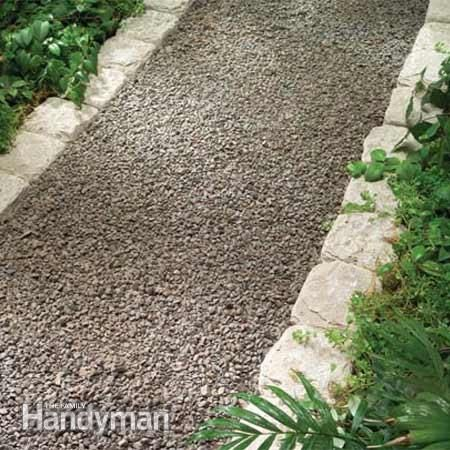 Planning a Backyard Path: Gravel Paths: The Family Handyman