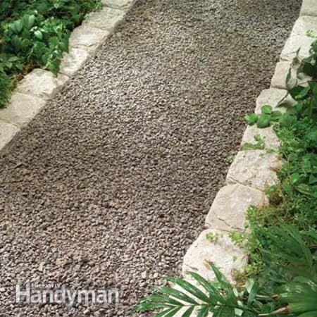 Planning a Backyard Path: Gravel Paths: The Family Handyman