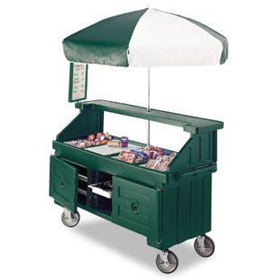 food vending cart - doable design, but how do we transport it...