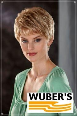 Parrucca Wuber's anche per chemioterapia capelli  in fibra parte alta lavorata a mano monofilamento modello Pilar