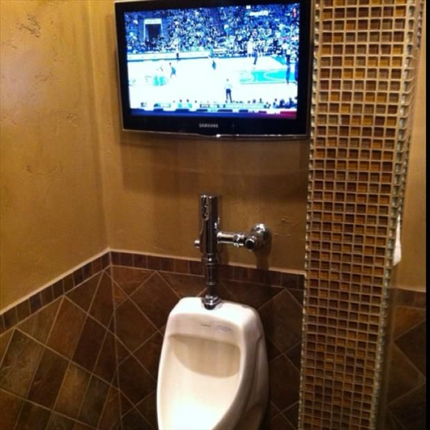 195 best images about man cave la kings denver broncos on for Best bathroom decor 2013