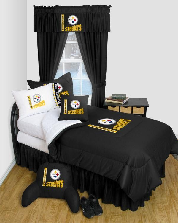 Pittsburgh Steeler NFL Locker Room Bedding