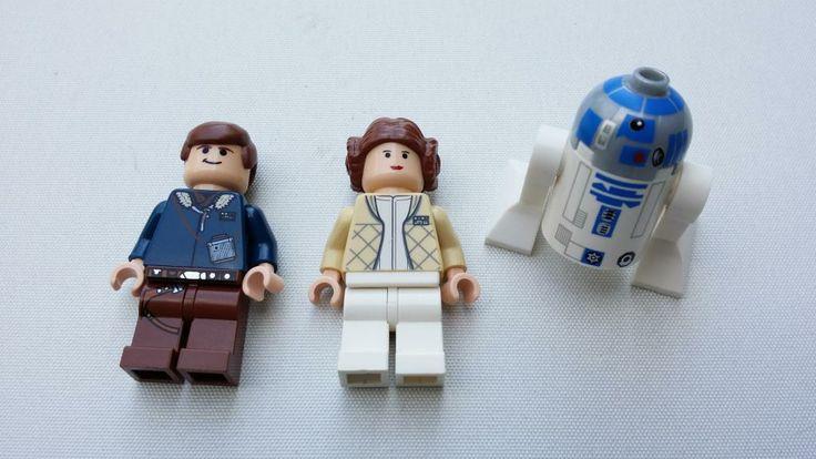 Lego star wars figurer/gubbar på Tradera.