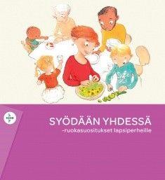 Kuvaus: Syödään yhdessä -ruokasuositukset lapsiperheille on uusi kansallinen suositus lasten, lapsiperheiden ja raskaana olevien ja imettävien ruokavaliosta. Suosituksissa kuvataan terveyttä edistävän monipuolisen ruokavalion periaatteet sekä keinoja sen toteuttamiseen lapsiperheissä. Suosituksissa painotetaan ruokakasvatusta, lapsen syömään oppimisen tukemista ja ruokailoa.