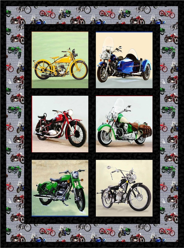 9 Best Quilts Motorcycle Images On Pinterest