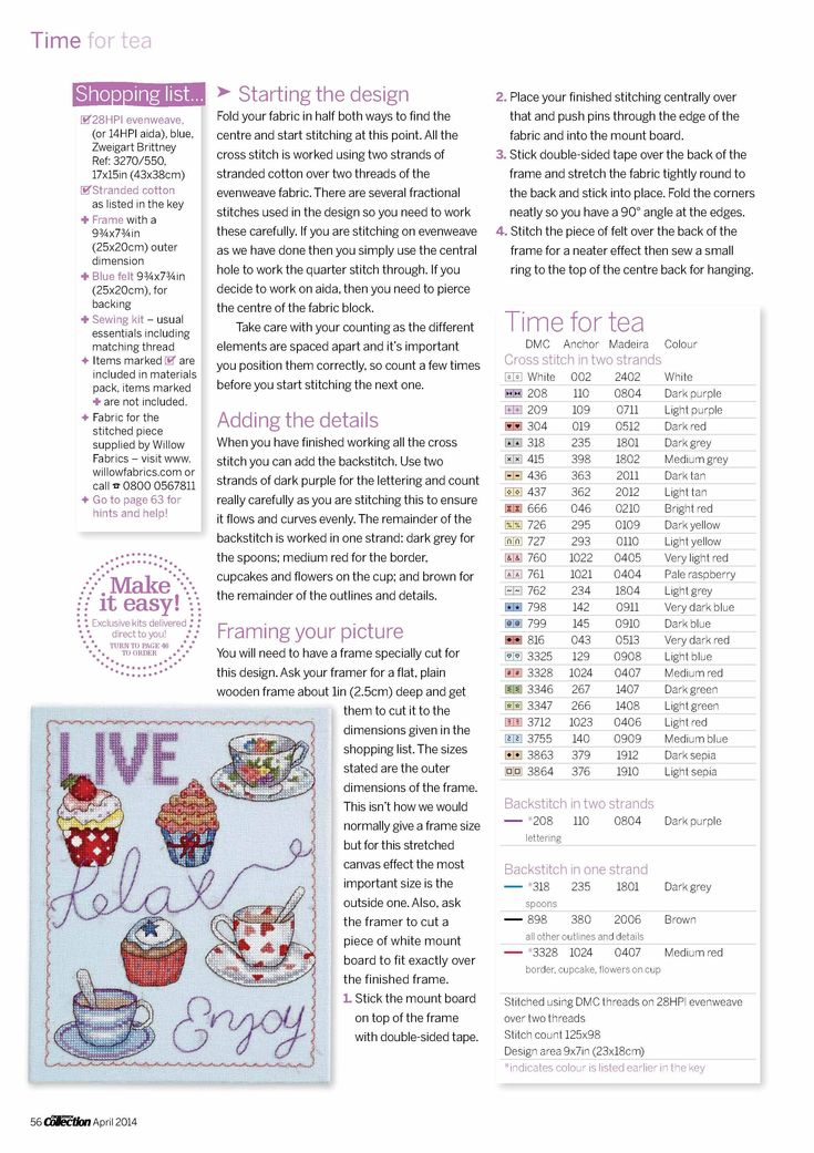 Cross Stitch Coollection 04. 2014