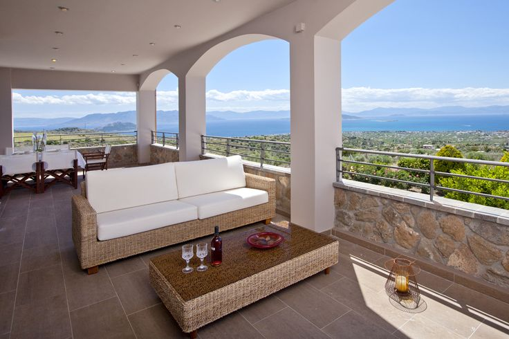 Relax by gazing the beautiful sea of #Aegina in Marini Luxury Apartments & Suites