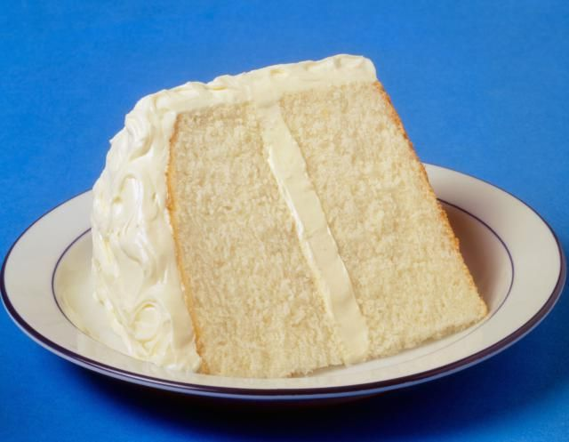 A simple vegan white cake recipe with no soy and no egg replacer.