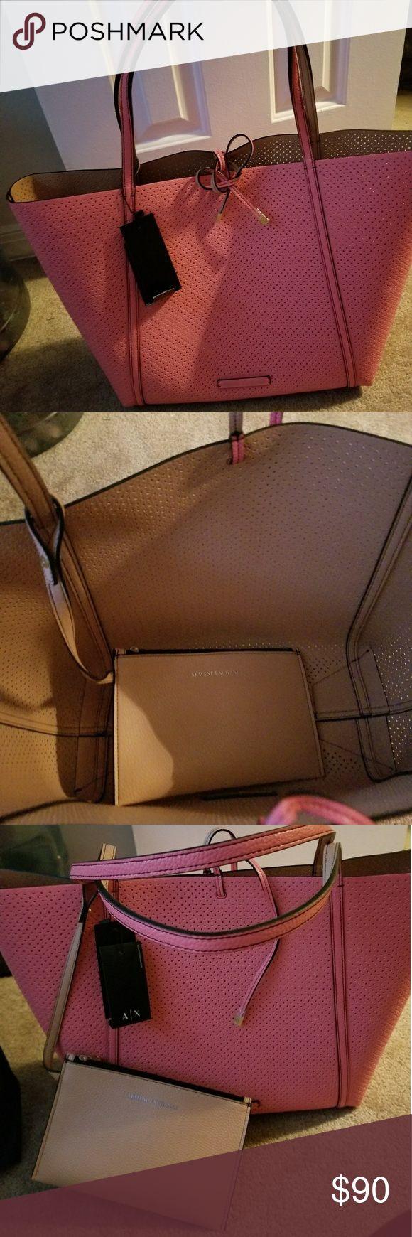 ARMANI EXCHANGE PURSE Brand New ARMANI EXCHANGE PURSE Reversible purse Armani Exchange Bags Totes