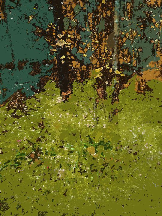 Klimtish (Green And Brown)