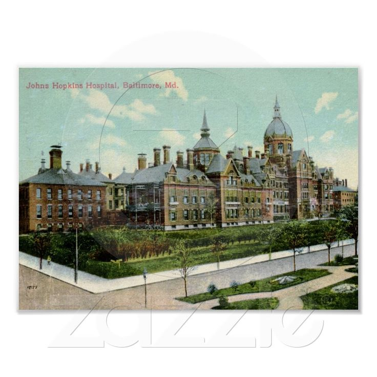 Johns Hopkins Hospital, Baltimore 1910