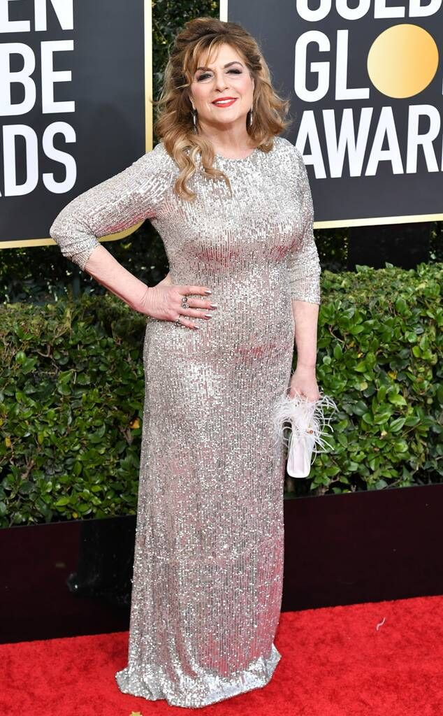 Caroline Aaron at the 77th Golden Globes on January 5 2020 in 2020 ...